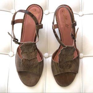New Miss Albright Anthropologie heel shoes sz 8.5